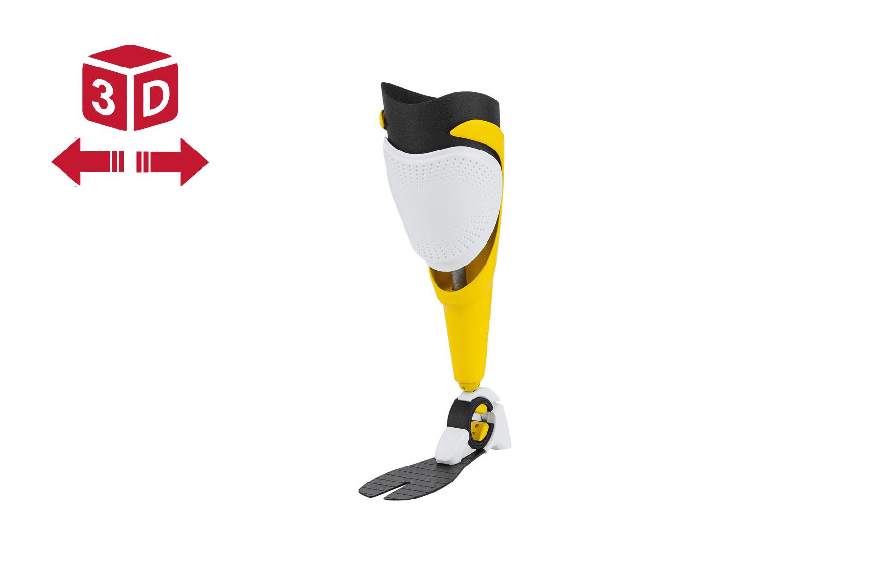 3D Druck-SLA-3, Protese-Prototyp Medzinaltechnik